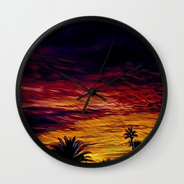 By The Time I Get To Phoenix - Graphic 1 Wall Clock