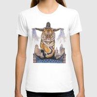 cincinnati T-shirts featuring Cincinnati Bengal Tiger by The Groundbird