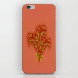Color Meditation - Orange  iPhone Skin