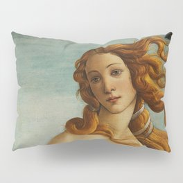 The Birth of Venus detail Pillow Sham