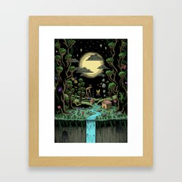 Magical Forest (in colour) Framed Art Print