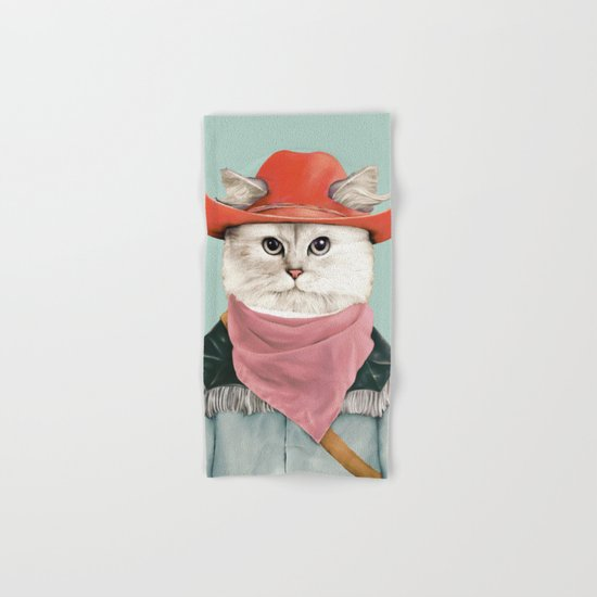 Rodeo Cat Hand & Bath Towel