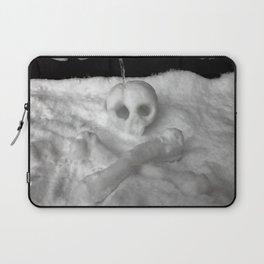 Snow Skull Laptop Sleeve