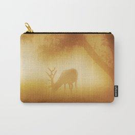 Elk in Early Morning Mist Carry-All Pouch