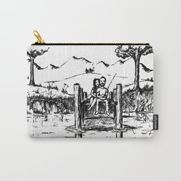 Fishing and Loving Carry-All Pouch