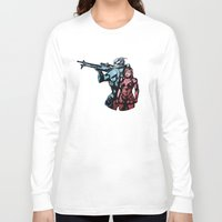 garrus Long Sleeve T-shirts featuring No Shepard Without Vakarian by Weissidian