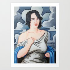 Cloud Cover Brings the Rain Art Print