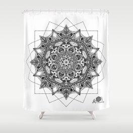 Anatomandala II Shower Curtain