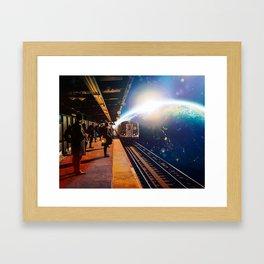Passengers Framed Art Print