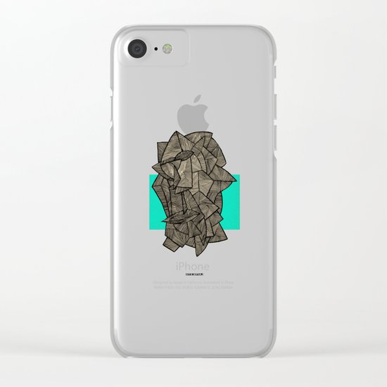 - sleeping disco - Clear iPhone Case