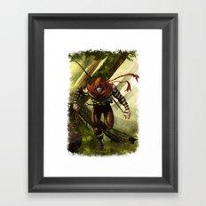 Berenn the Archer Framed Art Print