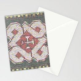 Pixel Art Mosaic #33 Stationery Cards