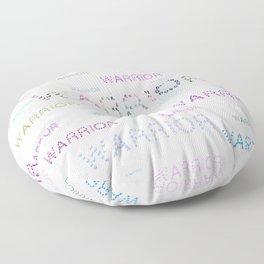 Warrior, Cancer Warriors Floor Pillow