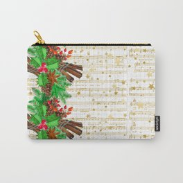 Christmas pine cones #3 Carry-All Pouch