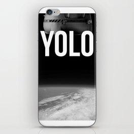 Felix Baumgartner YOLO iPhone Skin