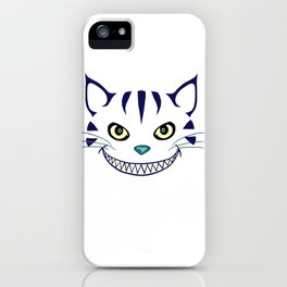 Grinning  Cheshire Cat iPhone Case