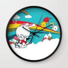 Mascaramella Wall Clock