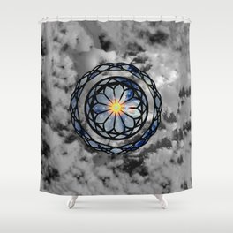 Consciousness Shower Curtain