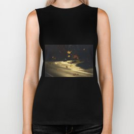 Autumn! Take me with you away from a dreadful winter! Biker Tank