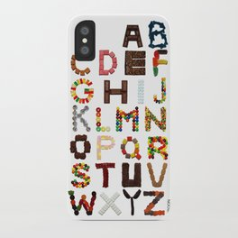 Candy Alphabet iPhone Case