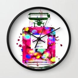 No 5 Parfum Wall Clock
