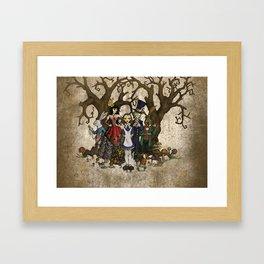 Alice's Adventures In Wonderland Framed Art Print