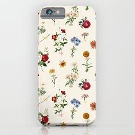 Vertical Garden (White) iPhone Case