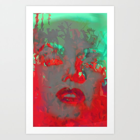 Mad About Monroe Art Print