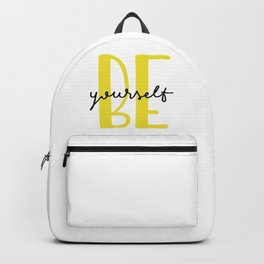 Be yourself Backpack