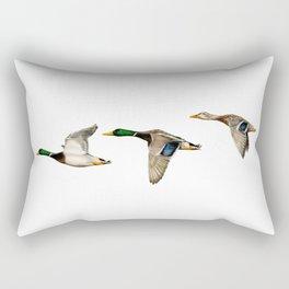 Flying Mallards Rectangular Pillow