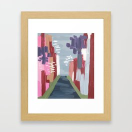 Spring Abstract 1 Framed Art Print