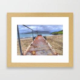 Horgabost, Isle Of Harris Framed Art Print