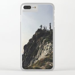 Rocky Ledge Clear iPhone Case
