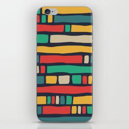 Color tape of life iPhone Skin
