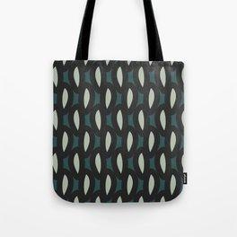 geo six-teal Tote Bag