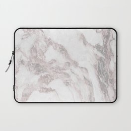 White Marble Mountain 012 Laptop Sleeve
