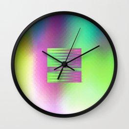 BX ON Wall Clock