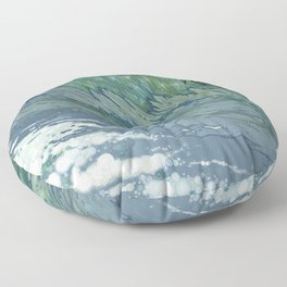 Churning Up Floor Pillow