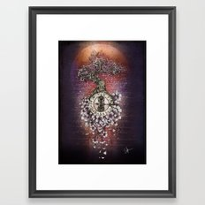 Time Perfusion Framed Art Print