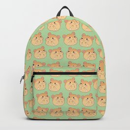 Cute Hamster Pattern Backpack