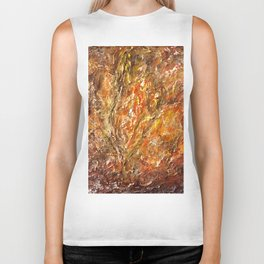 Textured Acrylic Painting By Annette Forlenza Biker Tank