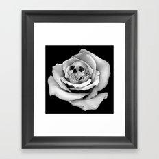 Beauty & Death - Edited Framed Art Print