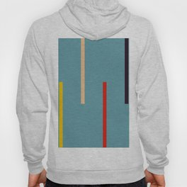Abstract Classic Stripes Mirian Hoody
