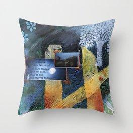 Beautiful and Dark Throw Pillow