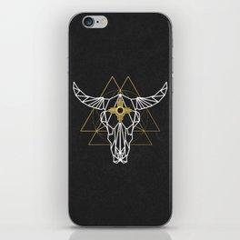 Cow Skull Zia iPhone Skin