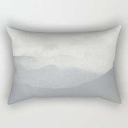 Rannoch Moor - mists and mountains Rectangular Pillow