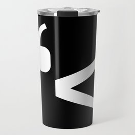 emotikwack black Travel Mug