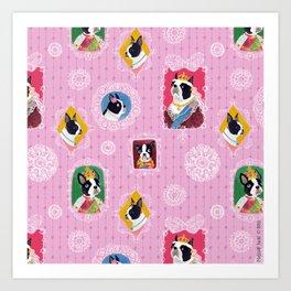 Elizabethan Dogs Art Print
