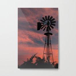 Sonoita Sunset Metal Print