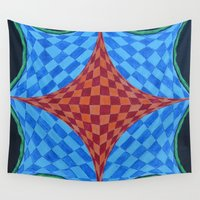 fractal Wall Tapestries featuring Fractal by Labartwurx